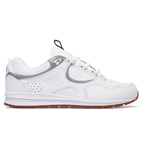 DC Shoes Mens Shoes Kalis S - Skate Shoes - Men - US 10.5 - White White/Black/Gum US 13 M ()
