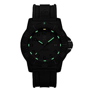 Luminox Land Black OPS Carbon 8800 Men's Grey Face Watch A.8802