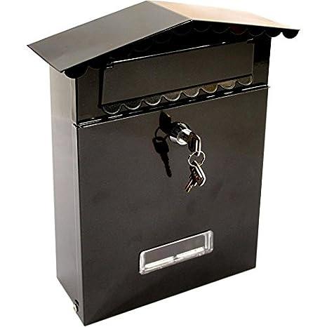 Generic YanHongUk150730 – 901 1yh2852yh puerta con cerradura buzón de correos buzón buey buzón Metal acero