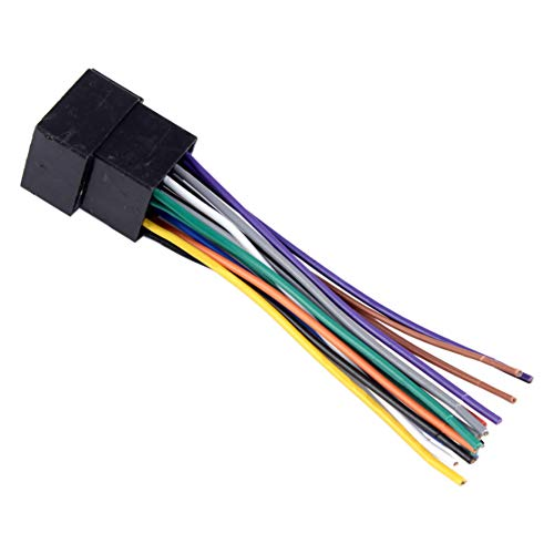 CITALL Car Radio Stereo Wire Wiring Harness OEM Adapter Connector: