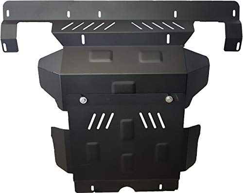 Steel skid plate for the protection of the engine and the radiator for Toyota Hilux Revo - (2016-2017):