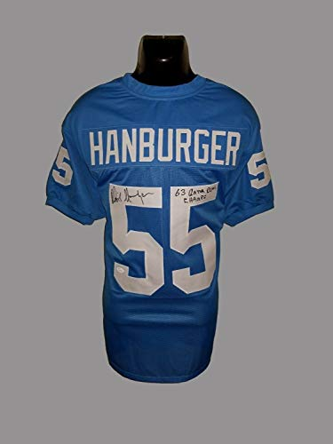 (Unc Tar Heels Chris Hanburger Autographed Signed Memorabilia Custom Jersey With - JSA Authentic)