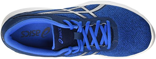 Asics Nitrofuze, Zapatillas de Gimnasia para Hombre Blu (Electric Blue/White/Poseidon)