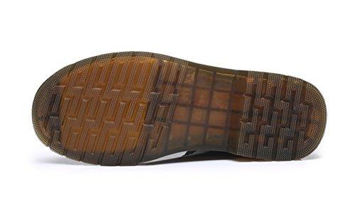 Martin Flattie Classiques Sous Chaussures À Femme Lacets Unisexe Genou Rouge Bottes Boots Sport Ubeauty Bottines wUEqX87q