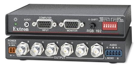(Extron Universal Computer-Video and Audio Interface RGB192V)