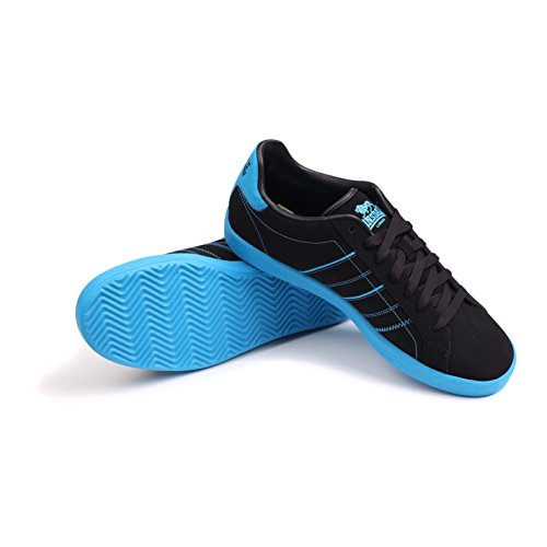 Oval Gents Black Stitched Sneakers Lace Up Lonsdale Sport Blue Shoes Mens Trainers Footwear UExqqF5w