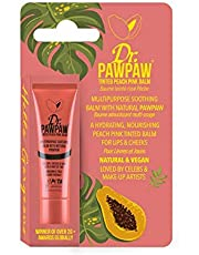 Dr PAWPAW Tinted Peach Pink Balm for Lips and Skin, 1 x 10ml