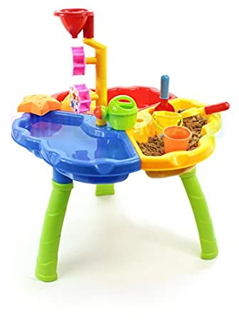 Kinder Spieltisch Sand and Water 3in1 - Sandkasten - Sandkasten ...
