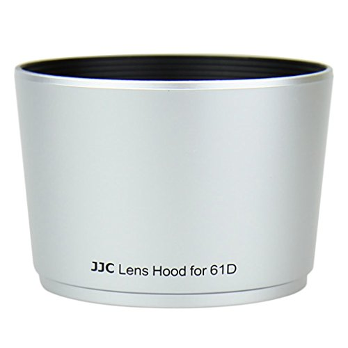 Gadget Place Black Vented Metal Lens Hood for Olympus M.Zuiko Digital 17mm 1:1.8