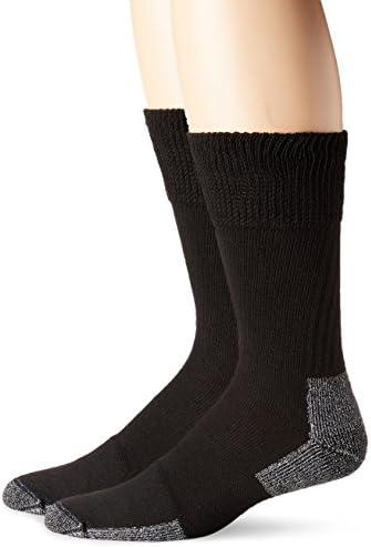 Dr. Scholl's Men's Premium Diabetic and Circulatory Casual Crew Socks [2 Pack]