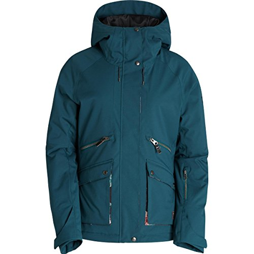 Billabong Junior's Miki Snow Jacket, Deep Teal, M (Billabong Snow Jackets)