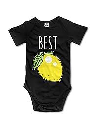 Baby's Summer BEST FRIENDS LEMON Infant Bodysuit