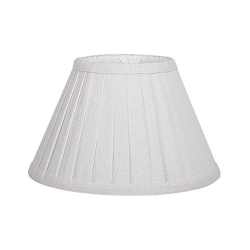 Mi Lampara - Pantalla Conica Plisada Gracia Pinza Beis (14x8x9.5)