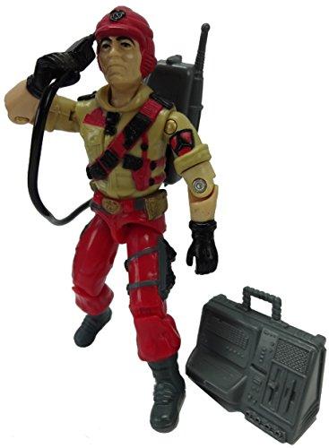 """Vintage 1986 G.I. JOE 3 3/4"""" Action Figure Special Mission Brazil Mainframe"""