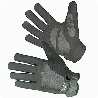 ShearStop Push Gloves with LiquiCell Palm Protection Half-Finger Size: Large by Rolyn Prest