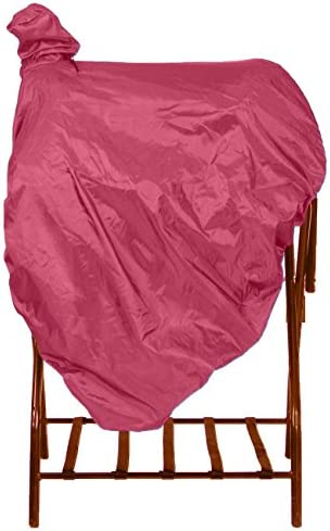Q/&A SUPPLY Western Saddle Cover//Western Saddle Cover with Fenders and Tote in HOT Pink