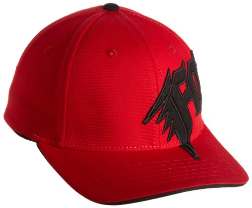 New Big Cap Hat (FOX Big Boys' New Generation Flexfit Hat, Red, One Size)