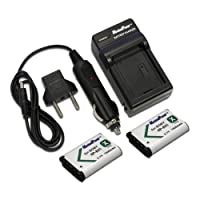 Maximal PowerFC500 Replacement Battery for SON BX1+DB, SON NP-BX1x2FC500 and SON 2BX1(Black)