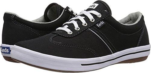 Keds Women's Craze Ii Canvas Fashion Sneaker, Black, 8.5 M US