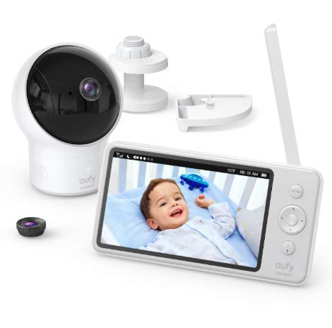 Baby Security Monitor - Baby Monitor, eufy Security Spaceview S Video Monitor, Peace of Mind for New Moms, 5