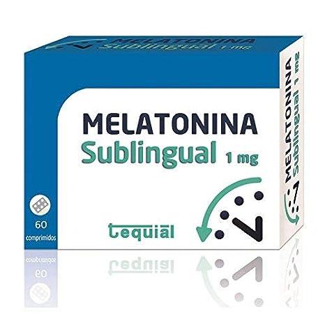Tequial - Melatonina 1 Mg, 60 Comprimidos Sublinguales: Amazon.es ...