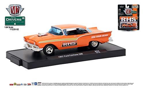 Toy Fairlane - M2 Machines Auto-Drivers 1:64 R52 1957 Ford Fairlane 500 - (RHS)