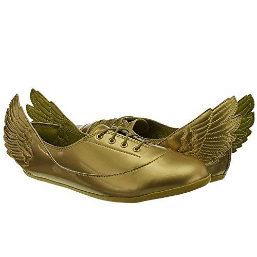 Adidas - Originals Jeremy Scott Ailes Dorées Easy Five D65208 - Doré, 38