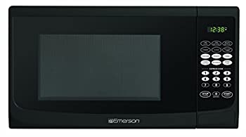 Emerson Mw9255b, 0.9 Cu. Ft. 900 Watt, Touch Control, Black Microwave Oven 1