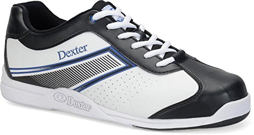 Dexter Randy Bowlingschuhe Weiß / Schwarz / Blau