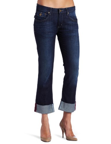 Carhartt Women's Denim Crop Pant,Vintage Night (Closeout),0