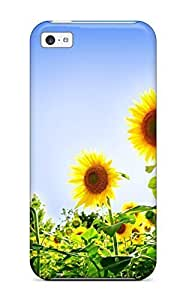 EvIrzfp5477nJaWu Snap On Skin For Ipod Touch 5 Case Cover (gorgeous Sunflowers)