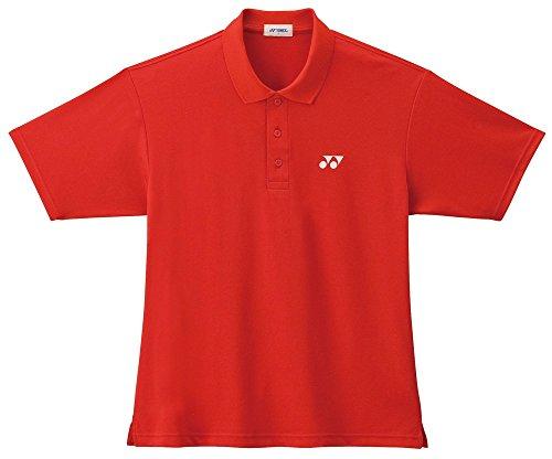 Yonex Men's Polo Shirt Small Flame Red