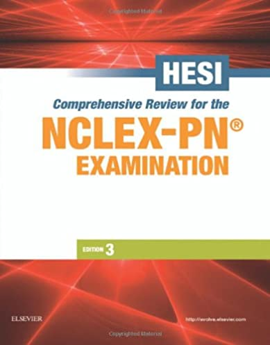 hesi comprehensive review for the nclex pn examination rh amazon com Quizlet HESI Exit Exam PEDs Hesi Exam