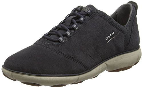 Top Nebula Grau Anthracitec9004 Geox Low Sneakers WoMen E D qSwxFUX