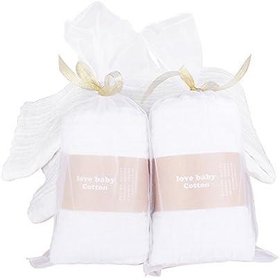 1 unidades 6 capa 100% algodón orgánico Muselina Swaddle Manta bebé toallas de baño también cálido para bebé manta – gran tamaño 43 in x 43 in – Ultra suave: Amazon.es: Hogar