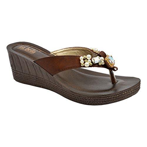 Buy INBLU Ladies sandal Grey and Black