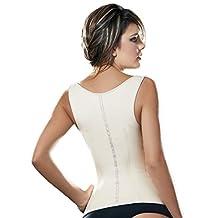Ann Cherry Women's Latex Waist Trainer Cincher Faja Girdle Full Vest Body Shaper