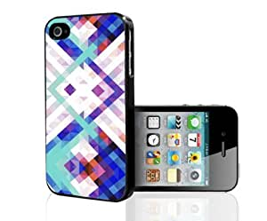 Abstract Colorful Pattern Hard Snap on Phone Case (iPhone 4/4s)