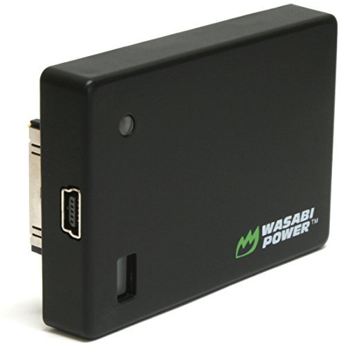 Wasabi Power Extended Battery compatible with GoPro HERO4, HERO3+, - Bacpac Battery Hero 4 Gopro