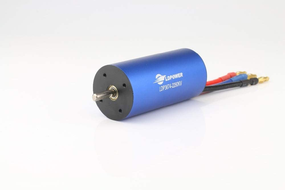 B07TK16J8Q Part & Accessories LDPOWER Brushless motor 1\8 car with 3674 motor 2600KV Model For Racing Car Play - (Color: 2600kv) 41CQiYMrMqL.SL1000_