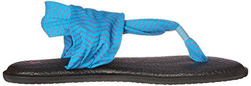 Flip Congo Flop 2 Women's Sanuk Sling Yoga Ocean Fuchsia nqPaqF4I