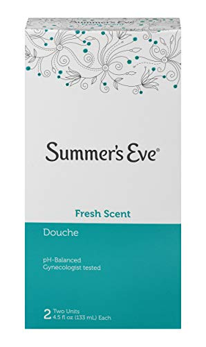 Summer's Eve Douche | Fresh Scent | 4.5 oz Size | Pack of 1 | pH Balanced, Dermatologist & Gynecologist Tested