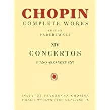 Concertos: Piano Reduction for Two Pianos Chopin Complete Works Vol. XIV