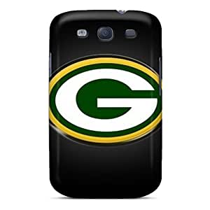 Protective Cell-phone Hard Cover For Samsung Galaxy S3 With Unique Design Nice Green Bay Packers Skin ZabrinaMcVeigh