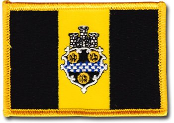 City Flag Pittsburgh (Pittsburgh - City Rectangular Patch)