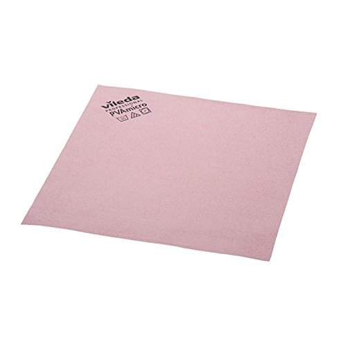 Vileda Professional PVA Microfiber Cloth Red (pack of 5)