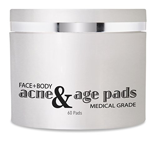 Acne Treatment and Anti-Aging Peel Pads for Face & Body, Treats Multiple Skin Care Issues :: With Salicylic Acid, Glycolic Acid, Lactic Acid & 8 Natural Botanicals, 60 Pads by (Advanced Acne Pads)