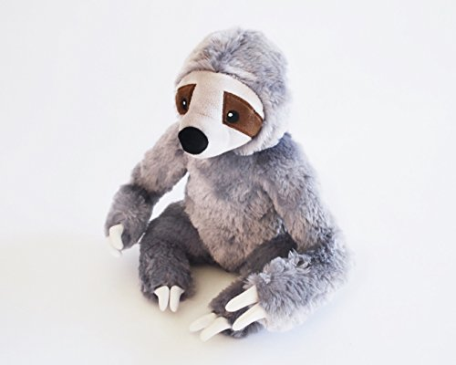 Stanley the Stinky Sloth, Farting Plush Dog Toy with Sound Insert by The Farting Dog Company (Image #1)