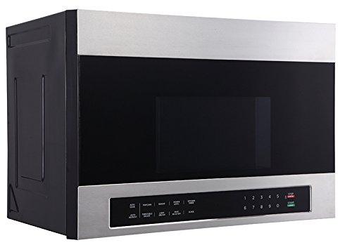 Avanti MOTR13D3S 24 Over The Range Microwave, Stainless Steel
