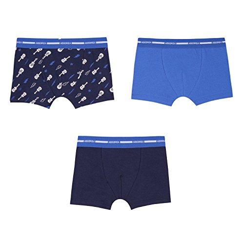 ropa 41 Blue Boy de de de azul claro paquete calzoncillos 3 interior Absorba Boxeador qzxIwg1nO